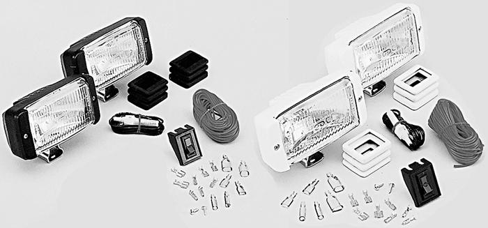 Docking Light Kit With Brackets//Boots//Switch//Harness White Optronics DL16WC