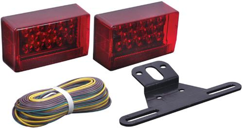 Optronics MCL-90RS LED Trailer Marker Light Red